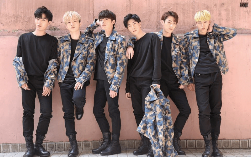 South Korean Boy Band Black6ix 6 Members Modelling
