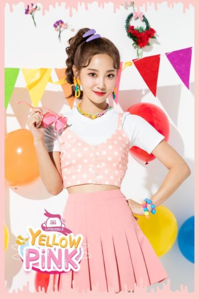 Mirae from band Lipbubble debut Yellow Pink