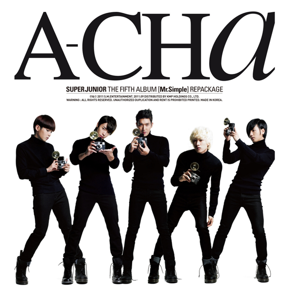 A-Cha - The 5th Repackage 'Mr. Simple'